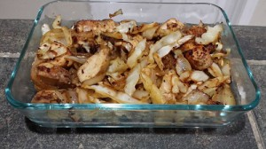 chicken-cabbage-onion